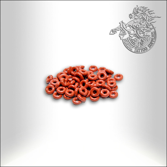 Lucky Supply, Small O-Rings, 10pcs - Nordic Tattoo Supplies