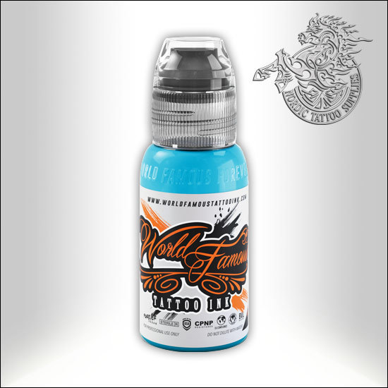 World Famous Ink - Greenland Ice Blue, 30ml