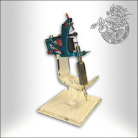 Acrylic tattoo machine stand