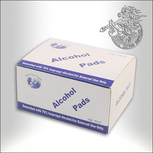 Alcohol Wipes, 100pcs