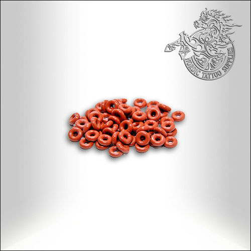 Lucky Supply, Small O-Rings Red 10pcs