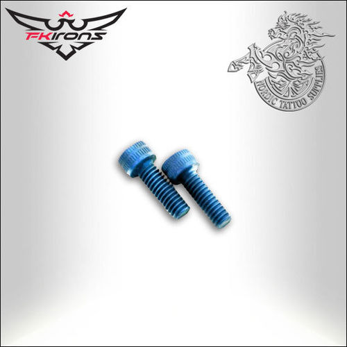 8-32 Tap 1/2 inch Anodized Aluminium Screw
