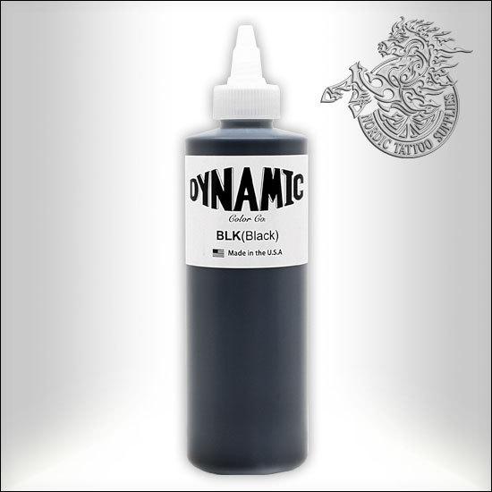 Dynamic Tattoo Ink Black 240ml Bottle Nordic Tattoo Supplies