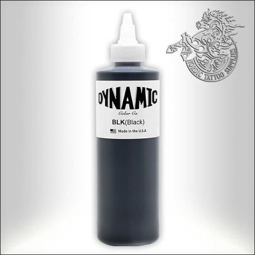 Dynamic Tattoo Ink, Black 240ml Bottle