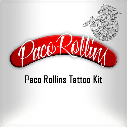 Tattoo Kit with Paco Rollins Machines