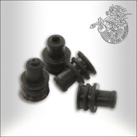 Sleeve Grommets, 100pcs Black