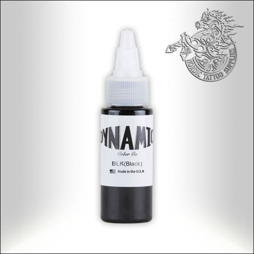 Dynamic Tattoo Ink, Black 30ml Bottle