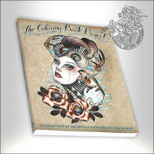 Tattoo Book - The Coloring Book Project