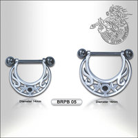 Surgical Steel Nipple Barbell