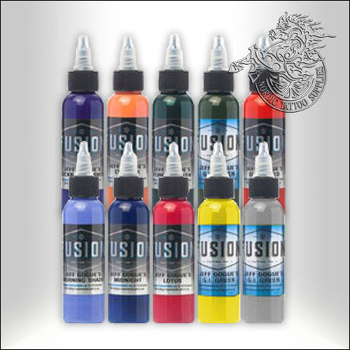 Fusion Ink Jeff Gogue - Full Range Kit, 10 x 30ml Bottles
