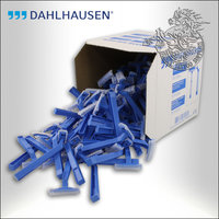 Dahlhausen Single Blade Razors, 100pcs