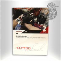 DVD - George Mavridis - Expressionistic Realistic Portrait Tattooing