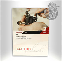 DVD - Stefan Fischer - Tattoo Machine Basics