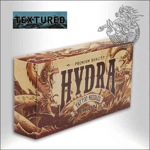 Hydra Textured Needles, 50pcs