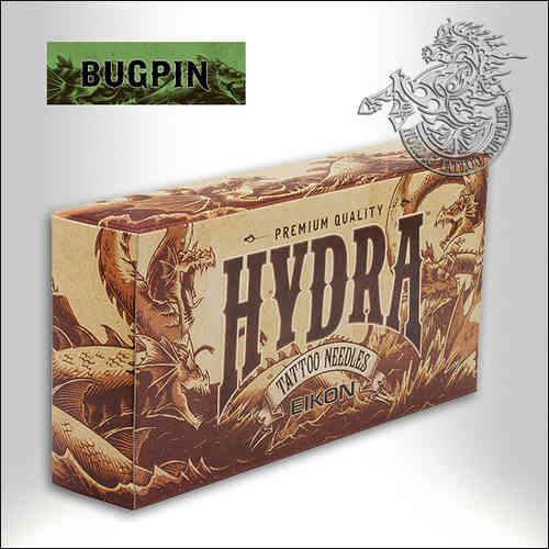 Hydra Bugpin Needles, 50pcs
