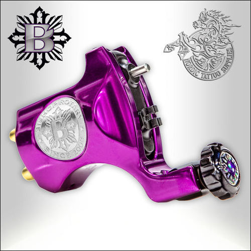 Bishop Rotary V6 - Beatnik Purple - Clipcord, 4,2mm Stroke