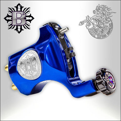 Bishop Rotary V6 - Royal Blue - Clipcord, 3,5mm Stroke