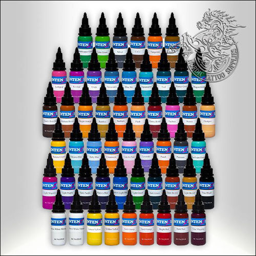 Intenze 54 Colours Kit, 30ml (1oz) Bottles