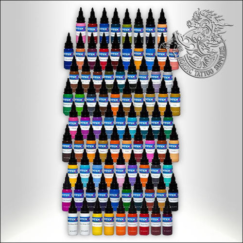 Intenze 101 Colours Kit, 30ml (1oz) Bottles