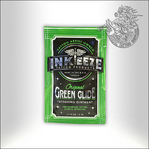 INK-EEZE Green Glide Tattoo Ointment, 5ml