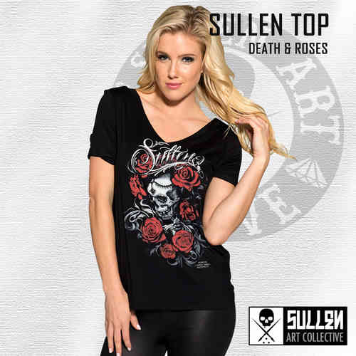 Sullen Angels - Death & Roses Top