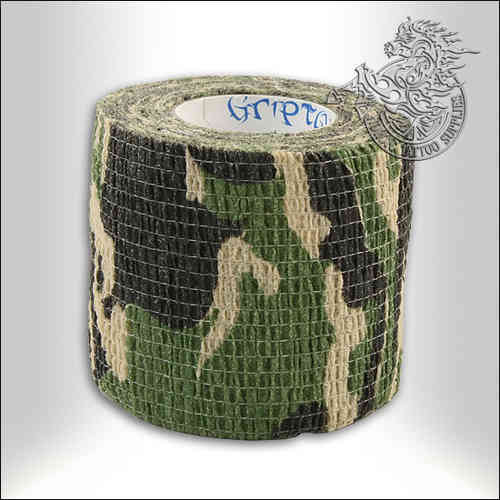 Precision Medical Cohesive Wrap - 50mm - Army