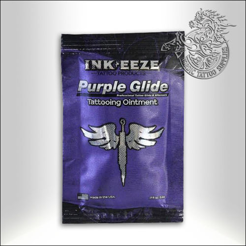 InkEeze Purple Glide Tattoo Ointment 5ml