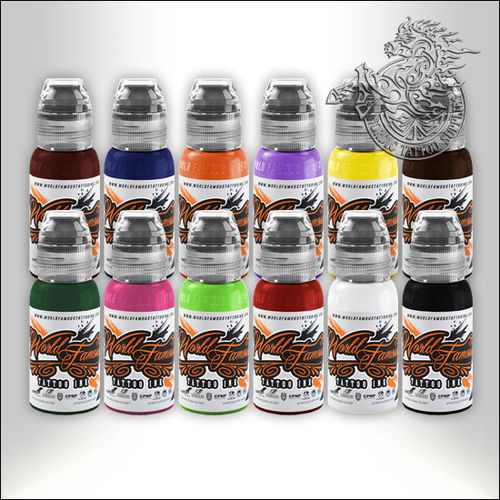 World Famous Ink - Primary Ink Set 1
