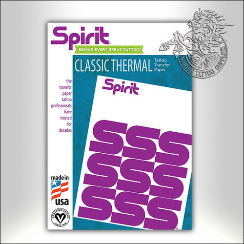 Spirit Classic Thermal Paper, 100 units, NORMAL LENGTH