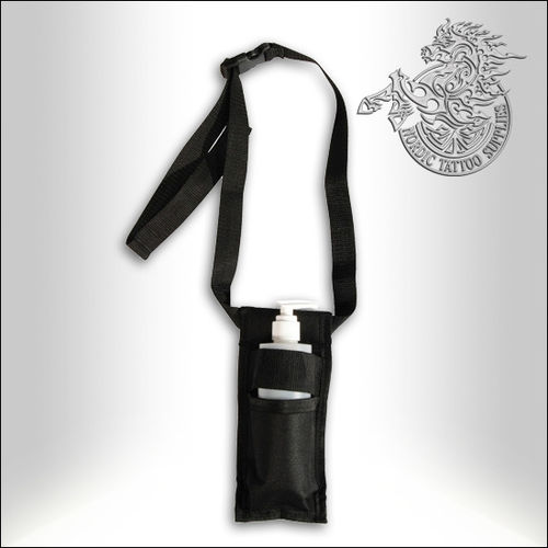 Oil Holster with Reusable Bottle