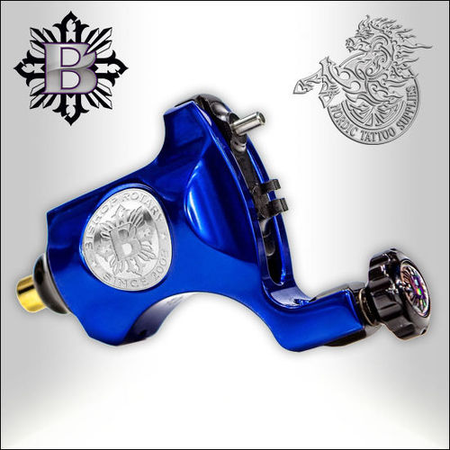 Bishop Rotary V6 - Royal Blue  - RCA, 4,2mm Stroke