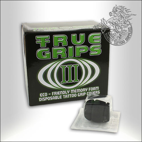 True Tube Barrel Grips With Integrated True Rinse Cups, 25pcs