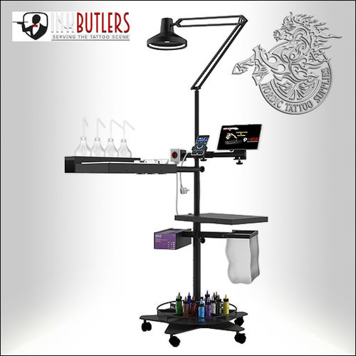 Inkbutlers Mobile Tattoo Workstation - Nordic Tattoo Supplies