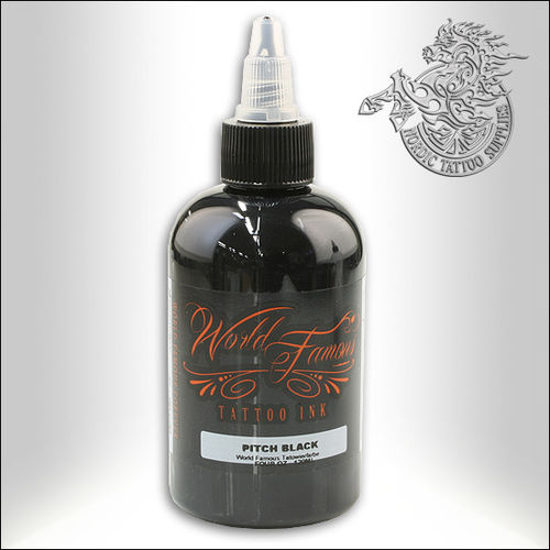 World Famous Ink - Pitch Black, 120ml
