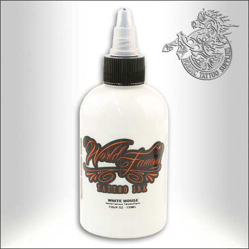 World Famous Ink - White House, 120ml