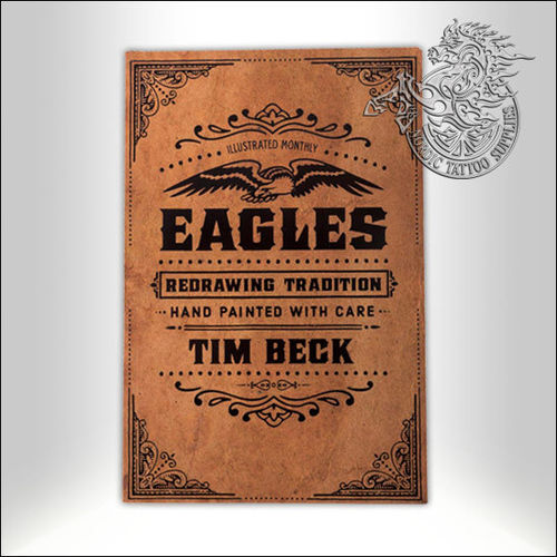 Tattoo Book - Illustrated Monthly - Eagles: Redrawing Tradition