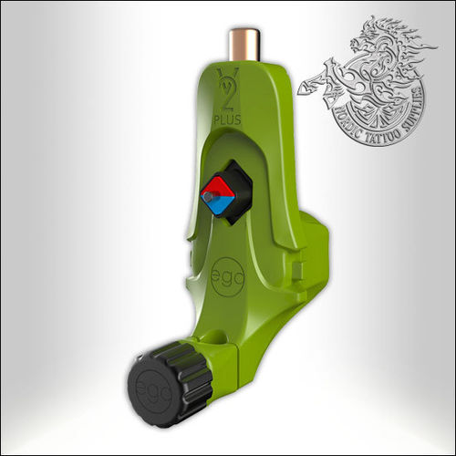 Bez EGO V2 Plus Tattoo Machine - Green