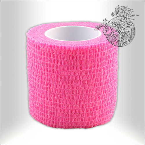 Precision Medical Cohesive Wrap - 50mm - Pink