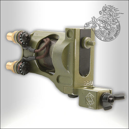Shagbuilt D20 Tattoo Machine Limited Edition - Warbird - Guilloutine Vice