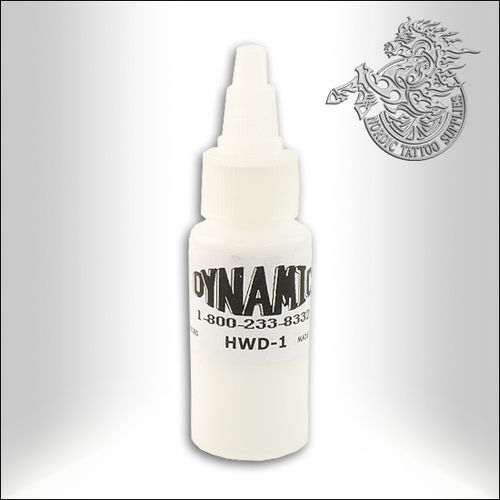 Dynamic Tattoo Ink, Heavy White 30ml Bottle