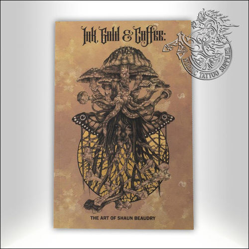 Tattoo Book - Ink, Gold & Coffee
