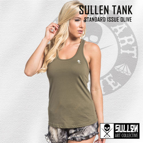 Sullen Angels - Standard Issue Tank Top - Olive