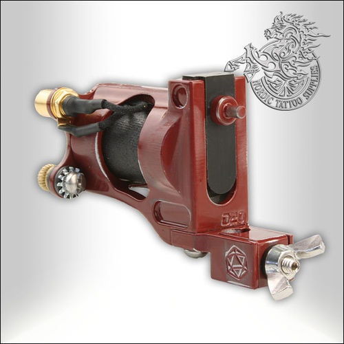 Shagbuilt D20 Tattoo Machine - Red - RCA - Guilloutine Vice