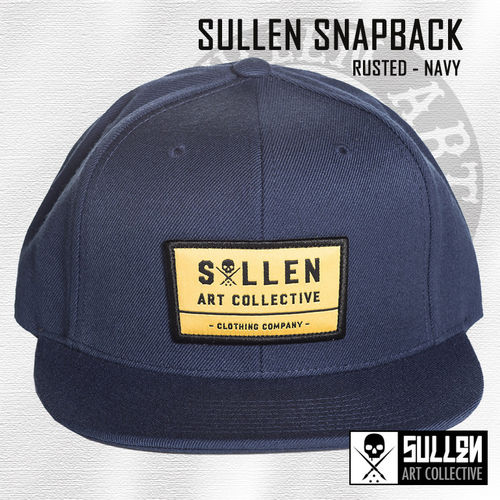 Sullen Snapback - Rusted - Navy