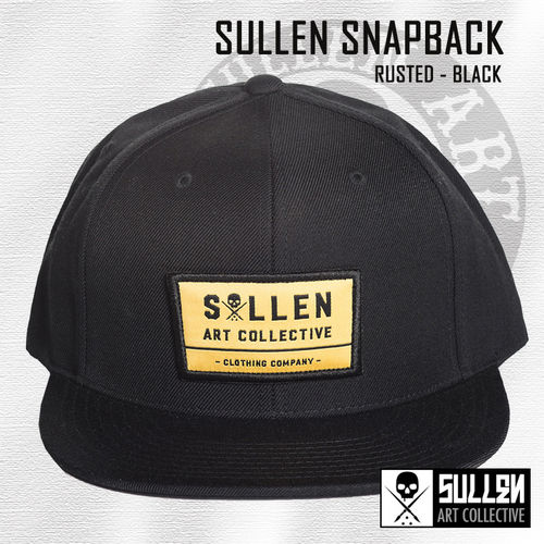 Sullen Snapback - Rusted - Black
