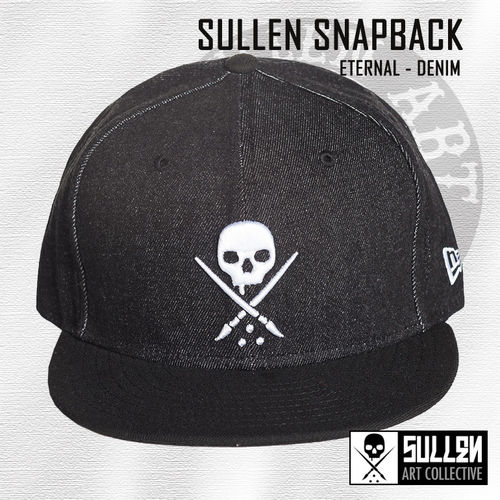Sullen Snapback -  NE Eternal Denim - Black