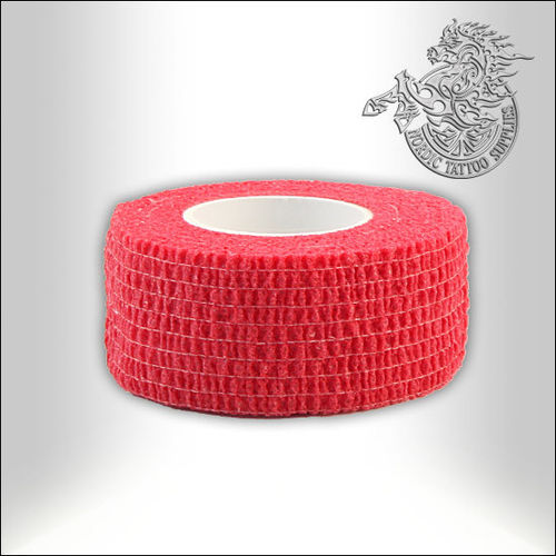 Cohesive Wrap - 25mm - Red
