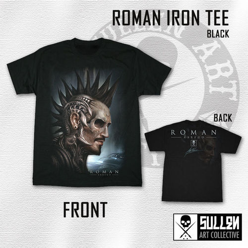 Sullen - Roman Iron - Black