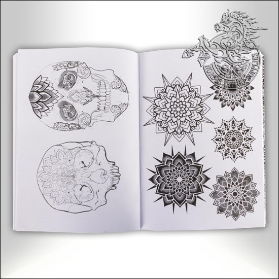 tattoo book boris cugat sacred reference mandalas patterns