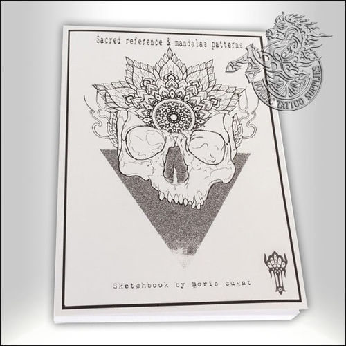 Tattoo Book - Boris Cugat - Sacred Reference & Mandalas Patterns Sketch